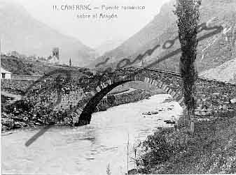 Foto puente Canfranc antiguo