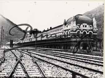 Estacion Canfranc antigua