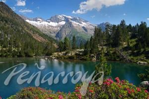 Paisajes- Lago Escarpinosa Pirineo, Panoramica