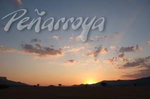Paisajes, puesta de sol en jaca, Calidad profosional